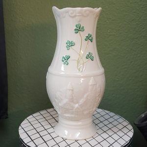 Belleek Glendalough Vase